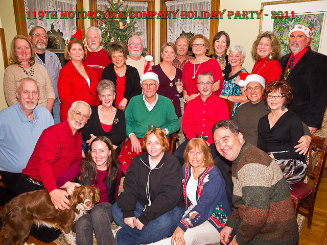 119th holiday party 2011